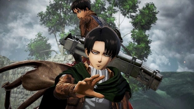 Attack on Titan 2: Koei Tecmo Shows Off Even More Action ... Attack on titan characters design from kids to season 4!