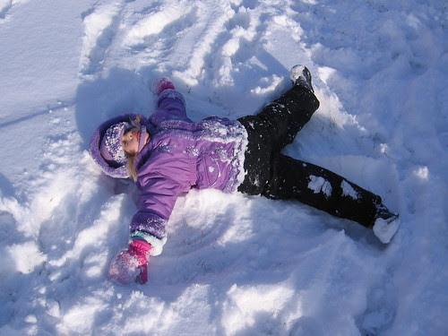 I'm a Snow Angel!