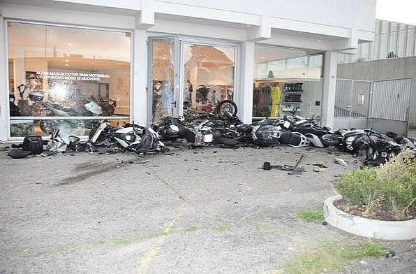 Lamborghini Crashes