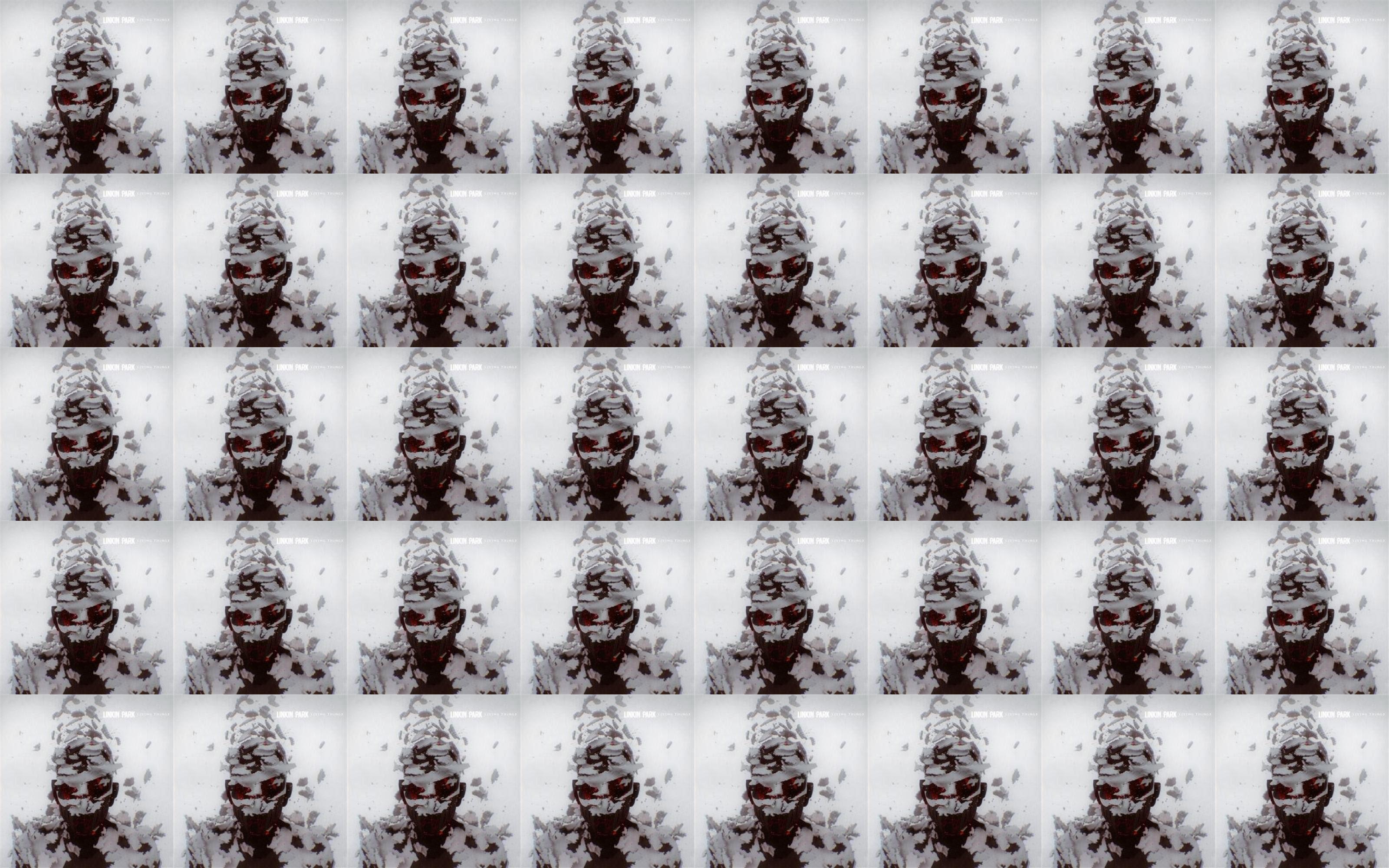 Linkin Park Living Things Wallpaper Tiled Desktop Wallpaper