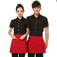 đồng phục váy quán cafe,