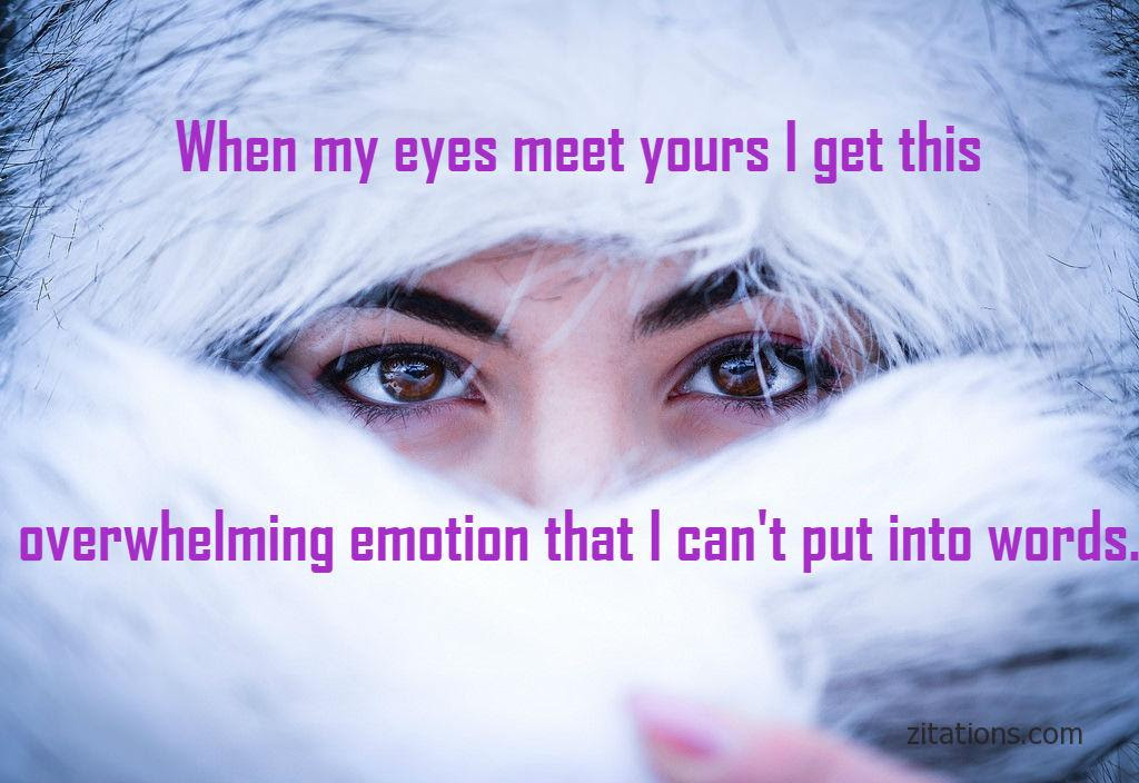 Beautiful Eye Quotes For Her Romantic Messages Zitations