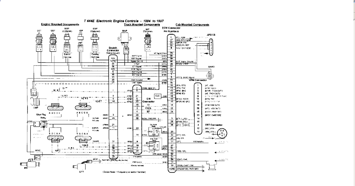 97 International 4700 Wiring Diagram