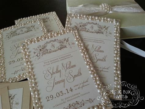 Musical Wedding or Party Invitation and RSVP Card in The