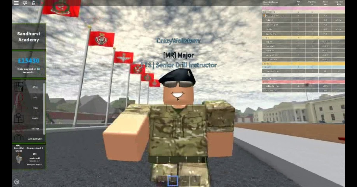 Roblox Military Academy Game