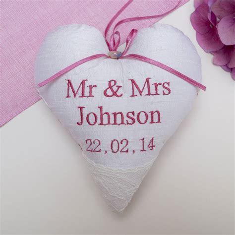 wedding heart silk by tuppenny house designs
