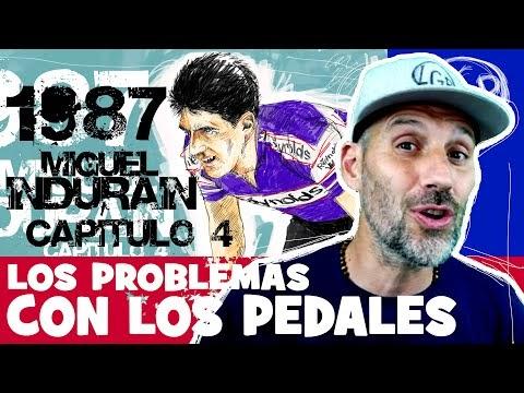 La LEYENDA de INDURAIN. Capítulo 4. 1987 y los PROBLEMAS con los PEDALES - Alfonso Blanco