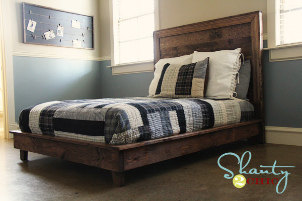 Ana White   Build a Hailey Platform Bed   Free and Easy DIY ...