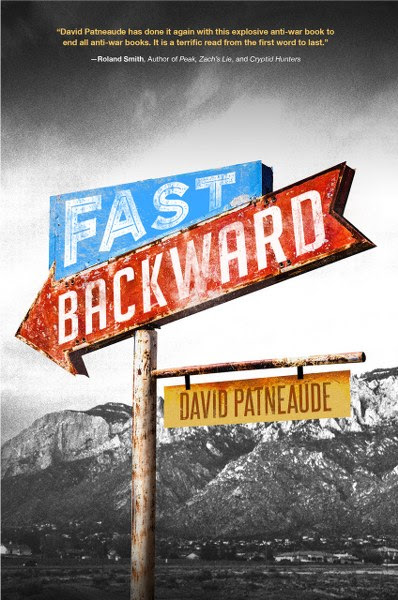 Book Cover for Young Adult SciFi Time Travel novel Fast Backward  by David Patneaude