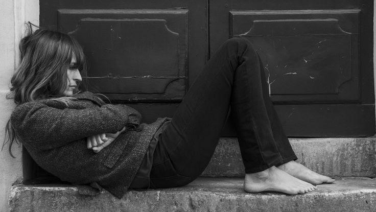 A portrait of Caroline de Maigret, photographed by Johan in Paris.