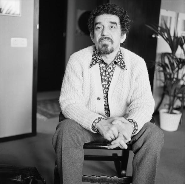 Gabriel Garcia Marquez, 1972.