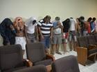 Suspeito de latrocínio  é preso na capital (Aline Nascimento/G1)