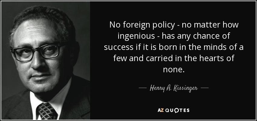 Αποτέλεσμα εικόνας για henry kissinger quotes