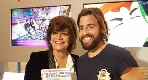 Júlia Pinheiro e João Manzarra (DR CARAS)
