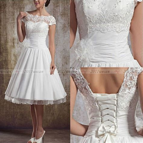Best 25  Short vintage wedding dresses ideas on Pinterest
