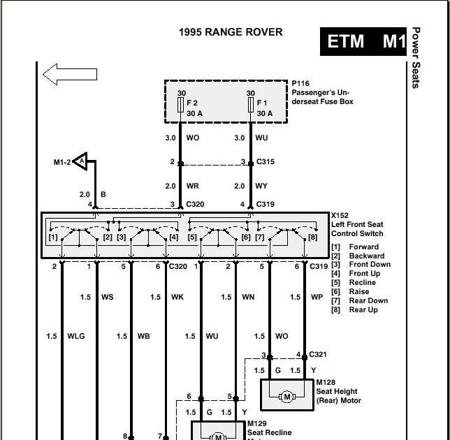 Range Rover Seat Wiring Diagram