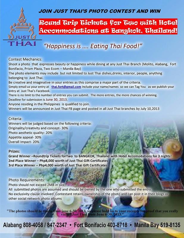 Just Thai Photo Contest