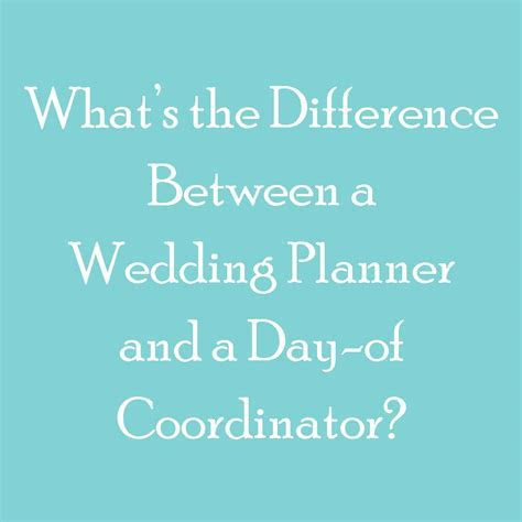 What Day of Coordination ISN'T   Bride Day Month