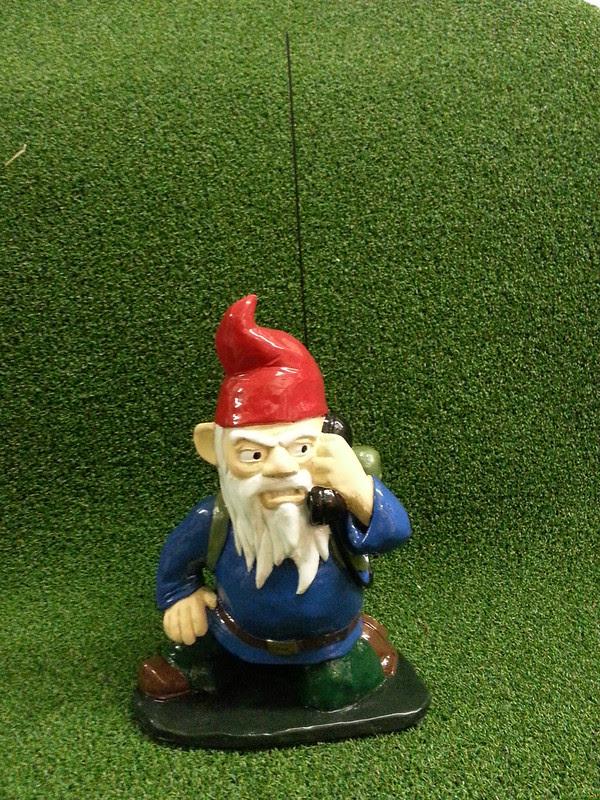 Combat Garden Gnome Radioman