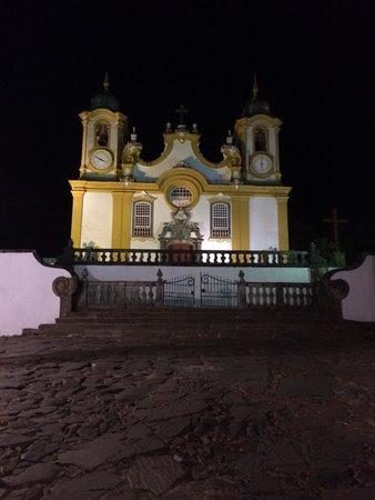 Cidade de Tiradentes Minas Gerais: Matriz