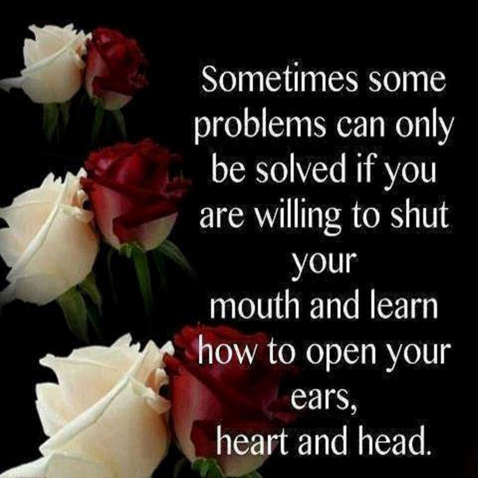 Sometimes You Need Shut Your Mouth And Listen Pictures Photos And