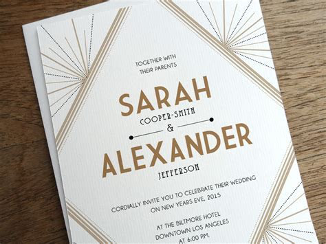Get Modern Wedding Invitations from e.m.papers
