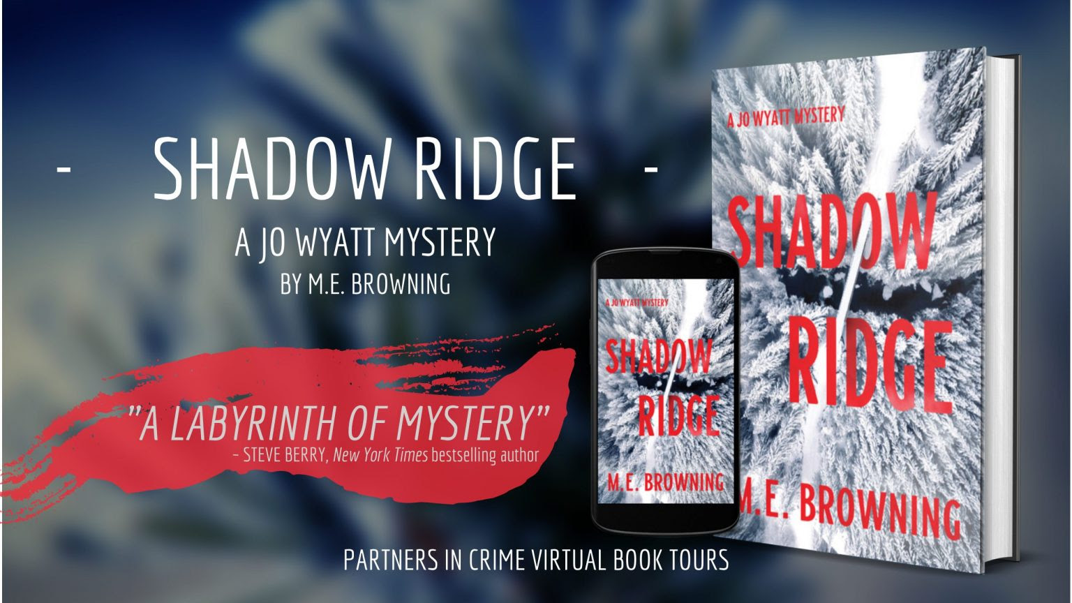 Shadow Ridge by M.E. Browning Banner