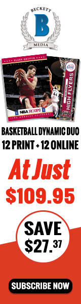 GET Dynamic Duo Basketball (1 Year Online Price Guide + Print Magazine Subscription ) for just $109.95