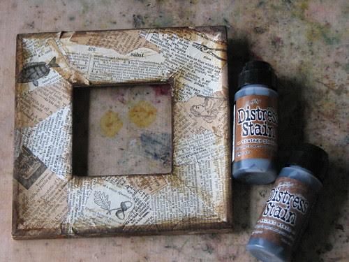 Steampunk Framed Art for Dad 006