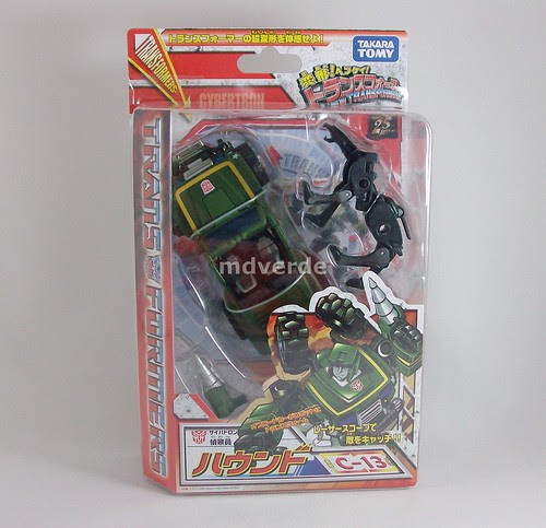 Transformers Hound Classics Henkei - caja (by mdverde)