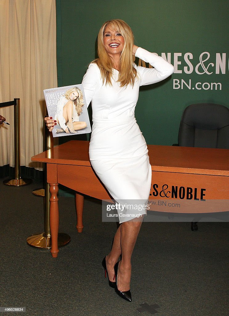 Christie Brinkley promotes her book 'Timeless Beauty: Over ...