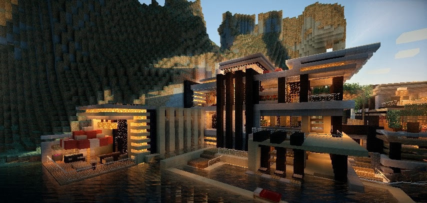 Luxurious Cove House   8 9 Minecraft