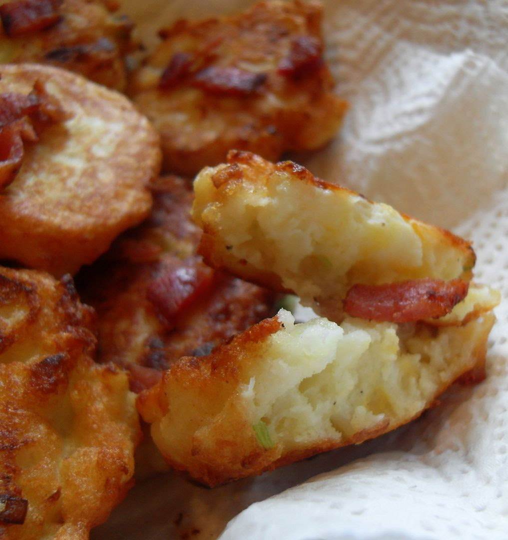 The English Kitchen: Cauliflower Cheese Fritters