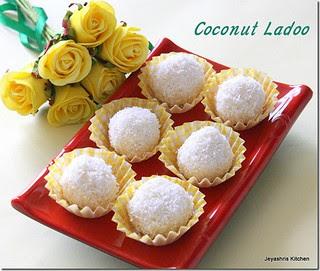 Coconut -ladoo