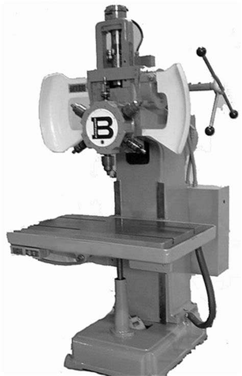 Mechanical Technology: Turret Type Drilling Machine