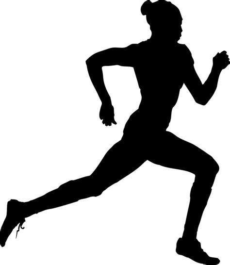gambar vektor gratis pelari menjalankan berjalan