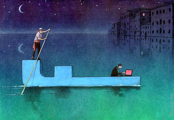 AD-Satirical-Illustrations-Show-Our-Addiction-To-Technology-26
