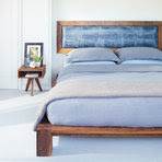 Make your bedroom a real haven with a bed draped in sheets ...