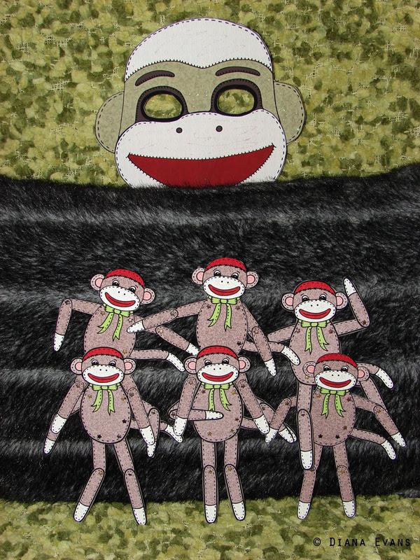 sock monkey 5