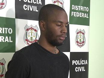 Rômulo Nascimento, artesão de 21 anos suspeito de amarrar e botar fogo em crianças no DF (Foto: TV Globo/Reprodução)