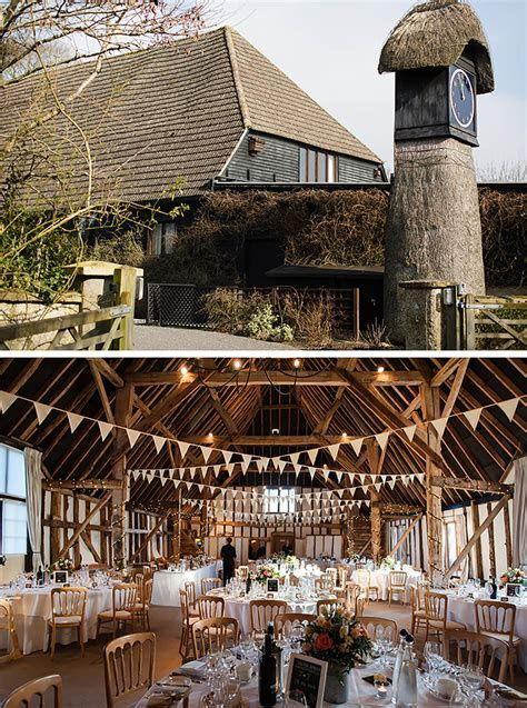 Janette and Joshua?s Relaxed Winter Wedding at Clock Barn