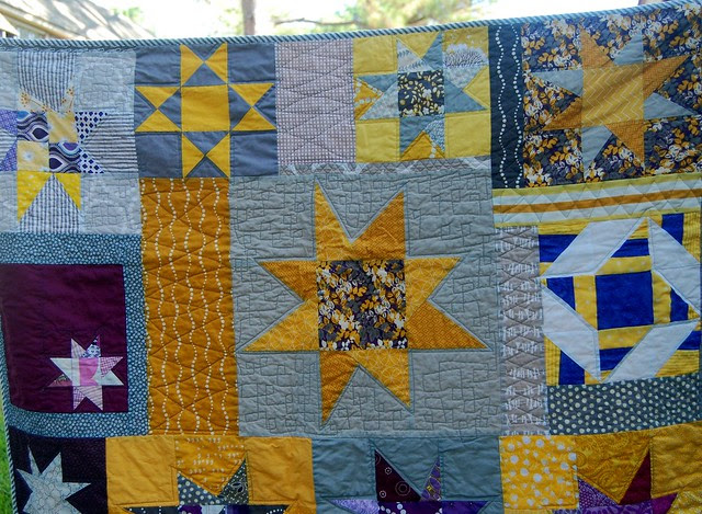 Starry Quilt details