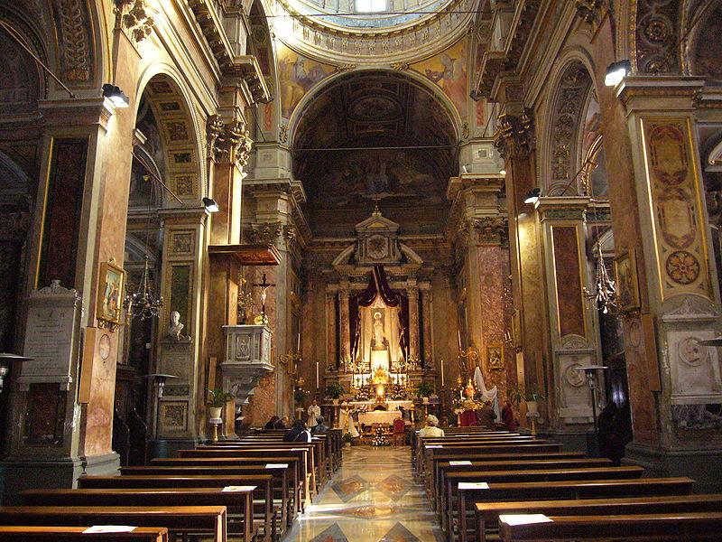 Fil: Campo Marzio - S Rocco interno 1000171.JPG
