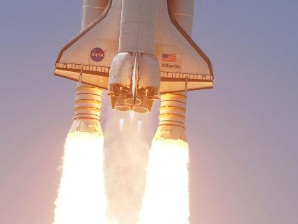 NASA STS-132 Lifts Off
