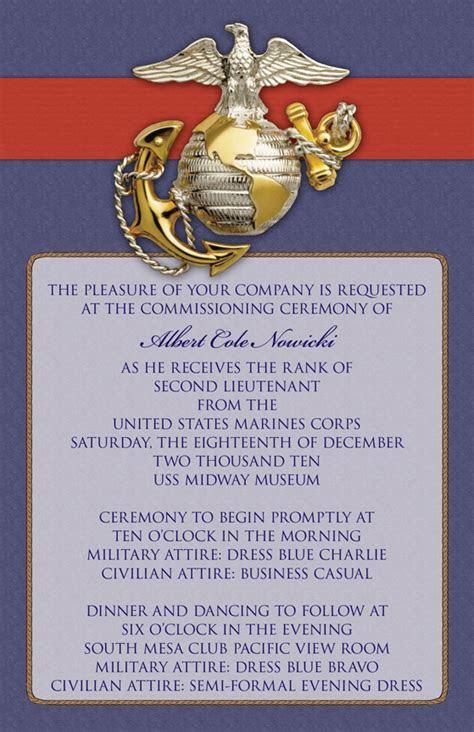 Custom Printables: Cole's Commissioning Ceremony Invitations