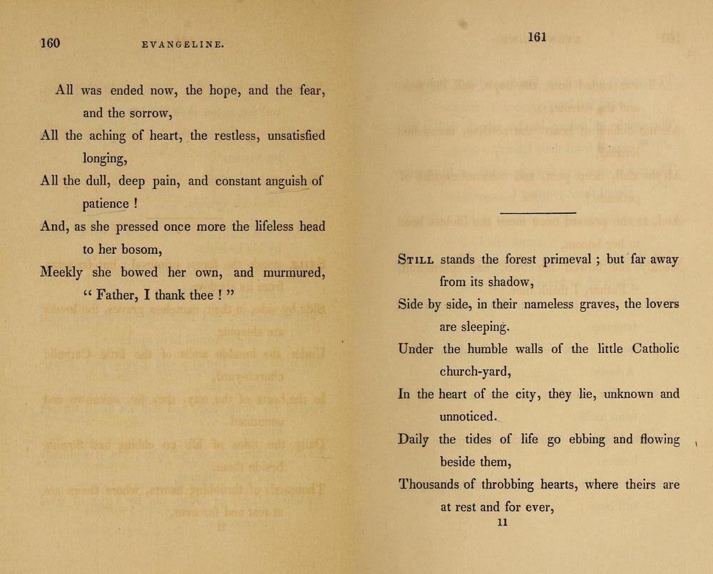 HENRY WADSWORTH LONGFELLOW , Evangeline: A Tale of Acadie , Boston ...
