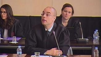 Francesc Claverol, advocat del Consorci del Palau de la Música, aquest dimecres durant el judici