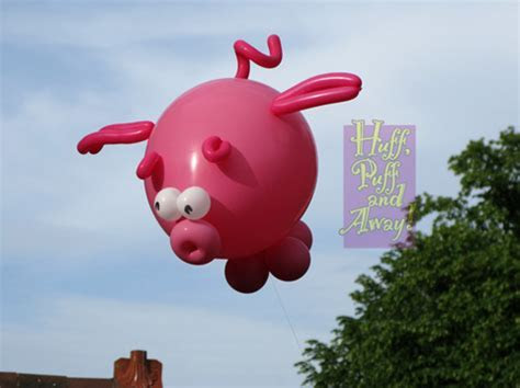 Huff Puff Balloons » Blog Archive » Flying Pigs.