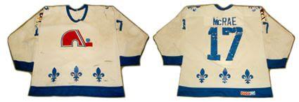 Quebec Nordiques 86-87 jersey