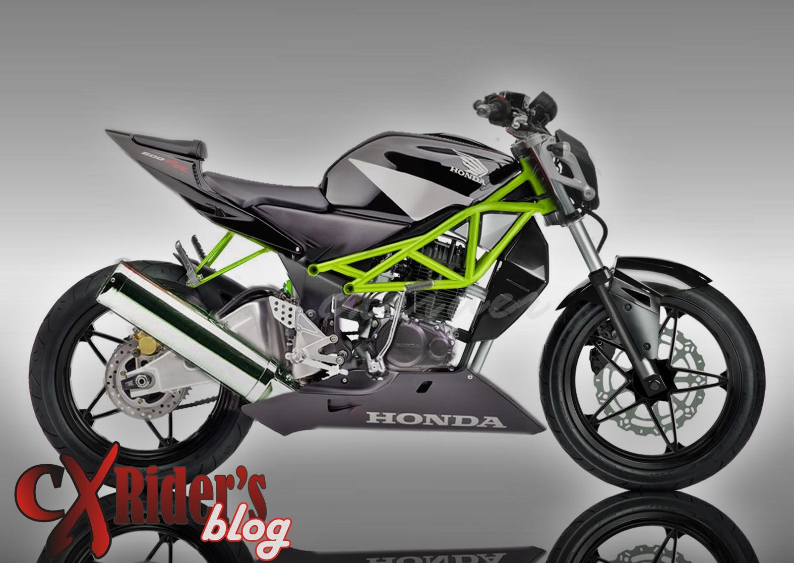 INFORMASI KITA Koleksi Foto Modifikasi Honda Tiger Revo Terbaru